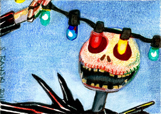 Jack Skellington Sketch Card