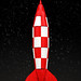 Tintin Rocket by Legohaulic