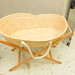 Moses basket on stand