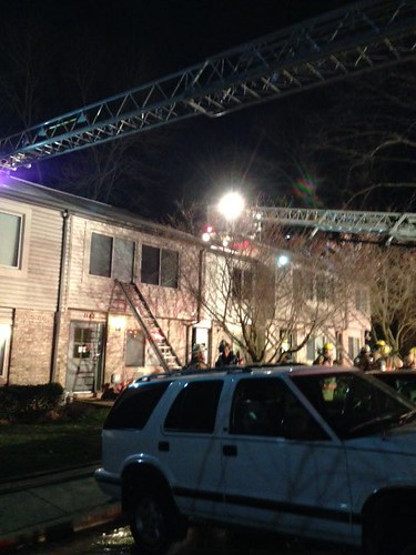 Silver Spring Townhouse Fire