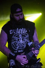 Anthony McCaughley of Sinocence at Metal 2 The Masses, Voodoo, Belfast, 15 April 2015