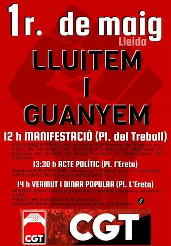 1r de Maig 2016 Lleida