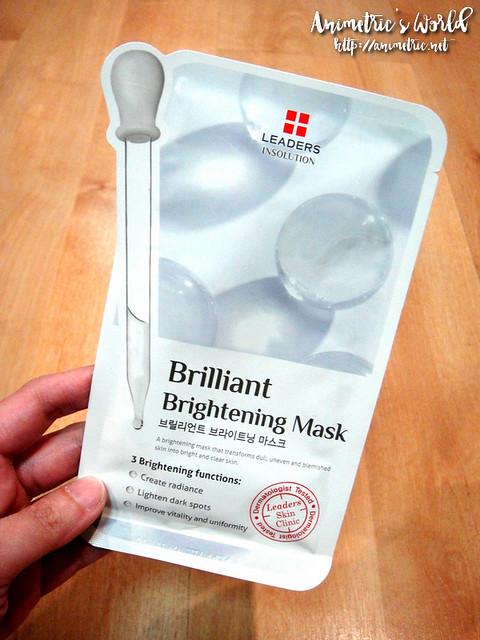 Leaders Brilliant Brightening Mask