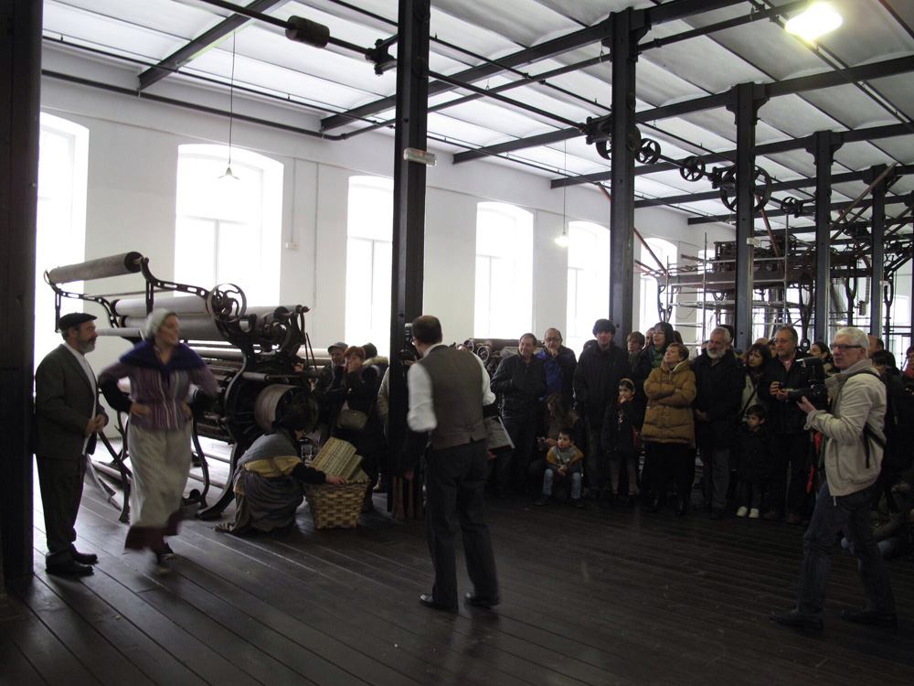 visita teatralizada_fabrica boinas la encartada_balmaseda_dinamización patrimonio_museos