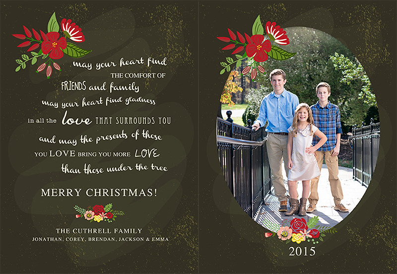 FB CHristmas CArd