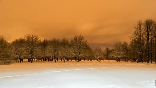 city winter snow by belarus minsk город минск зима снег беларусь