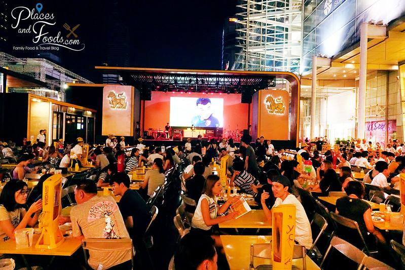 singha beer garden bangkok overview