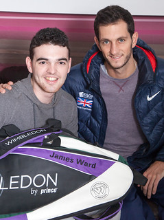 James Ward visits Paul's House