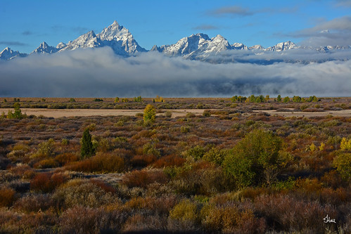 Tetons and Clouds - 1034b+
