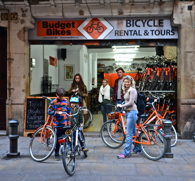 barcelona city tour - with kids