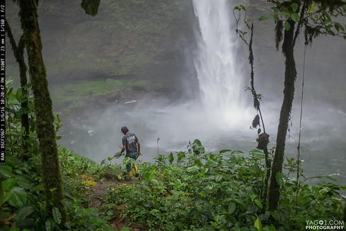 landscape waterfall ecuador tatala