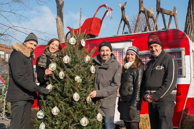 """Campagne de Noël """"375 000 arbres"""""""