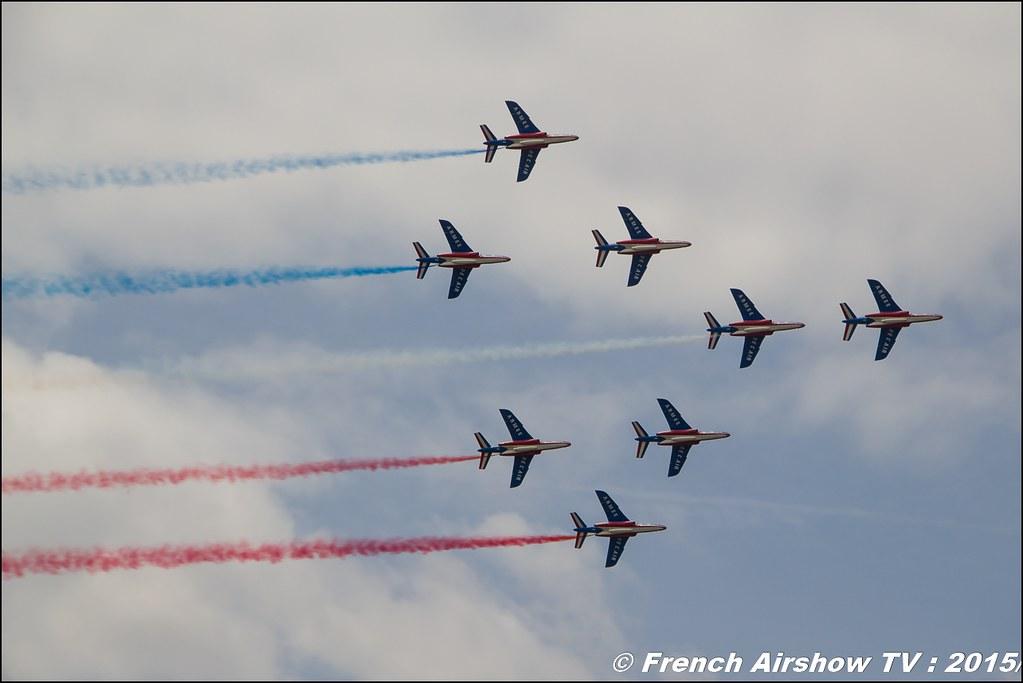 Patrouille de France Salon du Bourget Sigma France Paris Airshow 2015