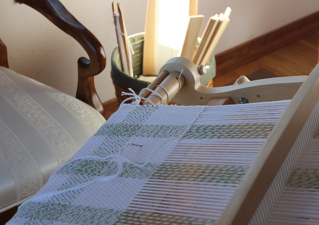 Tea Towel Weaving