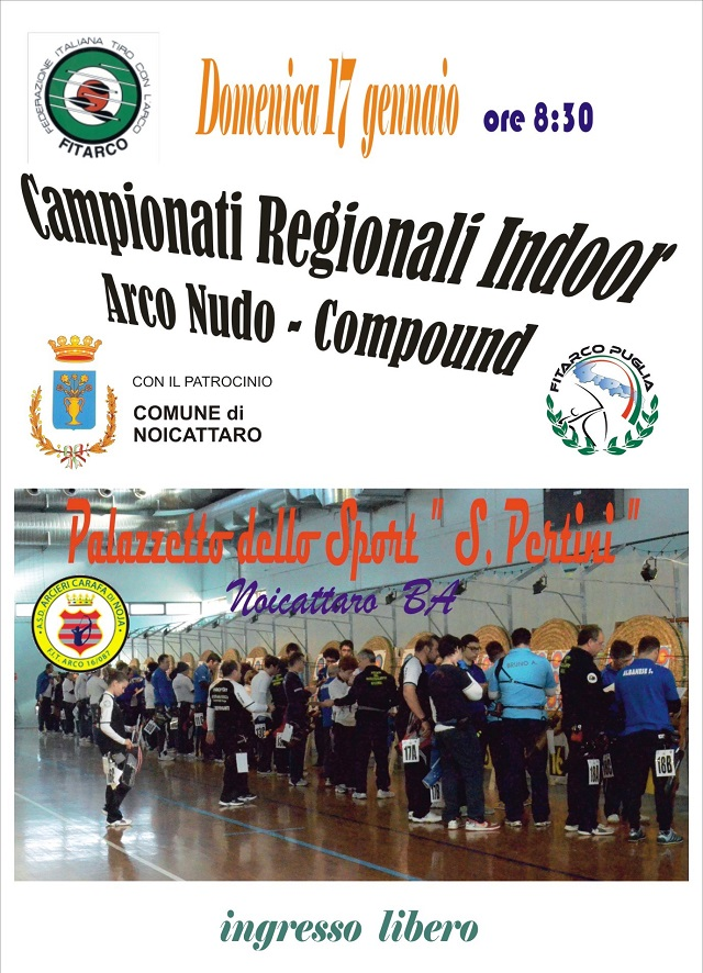 Noicattaro. Campionati regionali tiro con l'arco intero