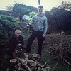 Some serious Sunday work on a storm-felled tree with @chrisjordan98
