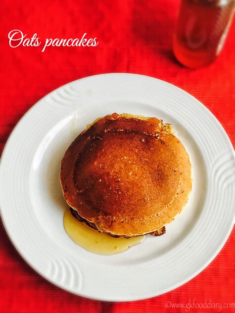 Oats Pancakes Recipe for Toddlers and Kids1