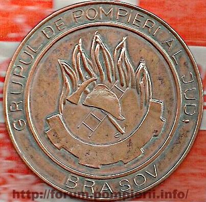 Medalie pompieri Brasov 1