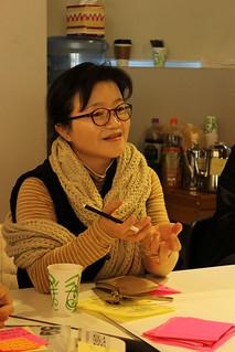 참여연대100인원탁토론중구난방 진행모습 참여회원2