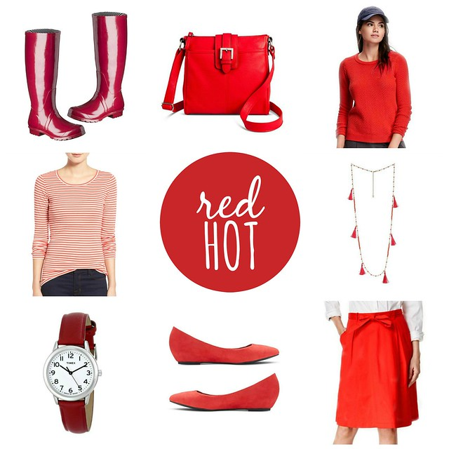 on trend red hot; Style On Target