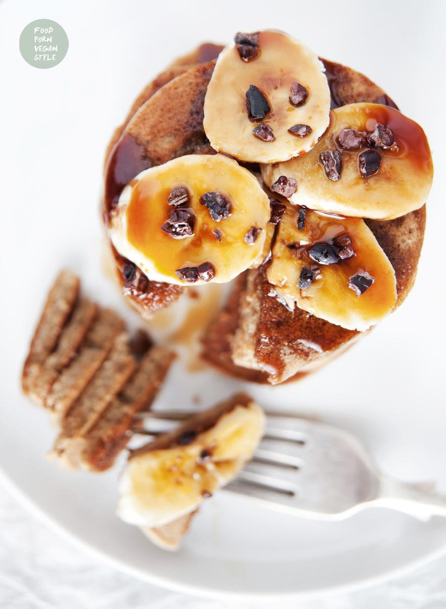 Vegan protein pancakes (gluten-free)