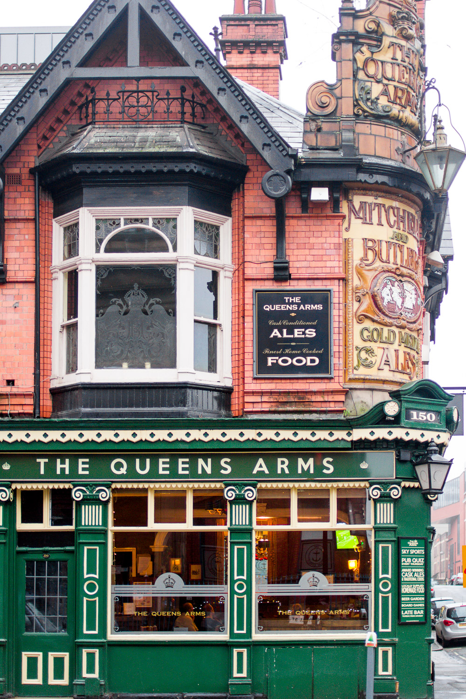 the queens arms birmingham pub
