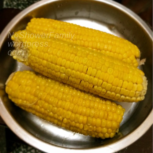 Steamed Corns