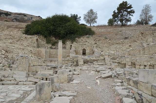 The Agora, Amathus, Cyprus