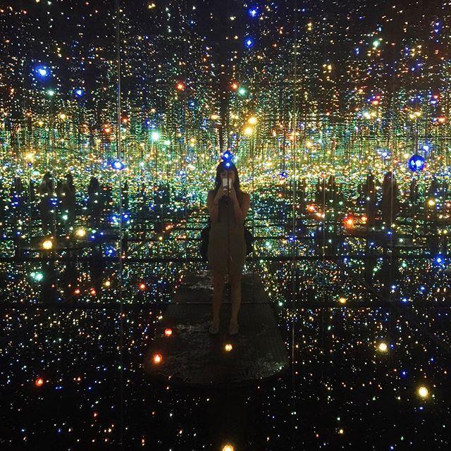 The Broad Yayoi Kusama infinity room