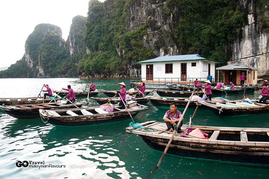 Halong Bay Vietnam 2D1N Trip vungvieng village