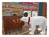 Polar Bear Goes Shopping