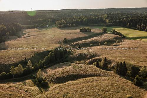 natur sverige swe ödeborg västragötaland flygfoto torsbyn