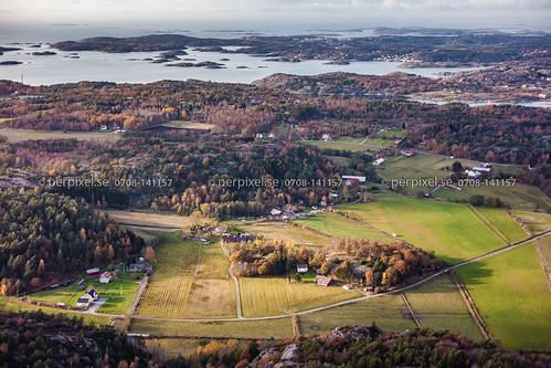 sverige swe västragötaland flygfoto ellös slätthult