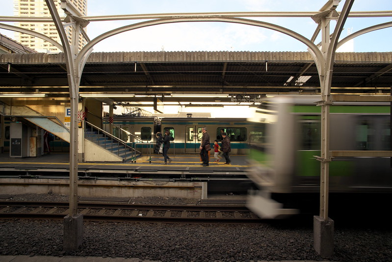 Tokyo Train Story 日暮里駅 2016年2月13日