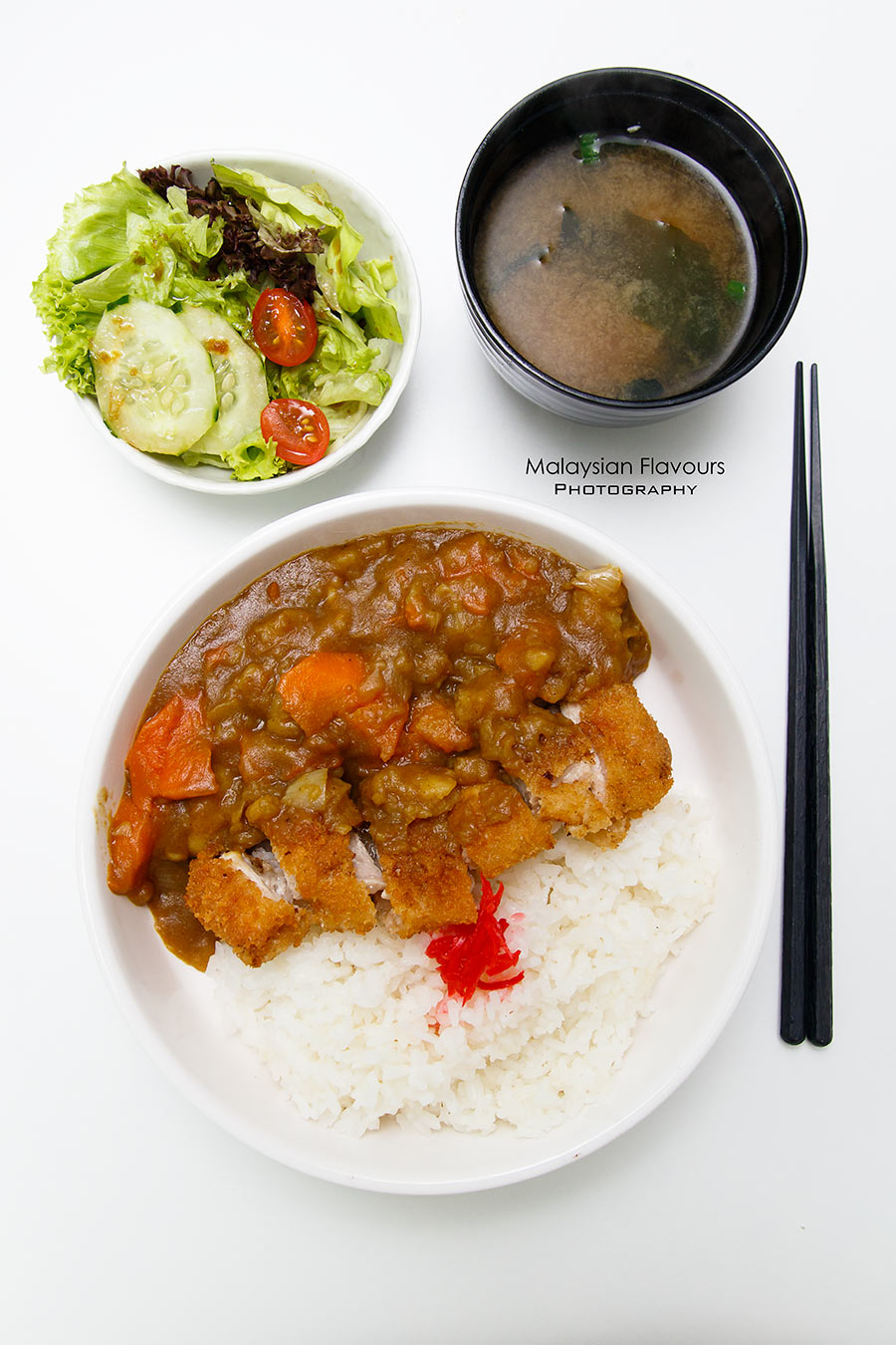 Aka Cafe japanese chicken katsu curry rice