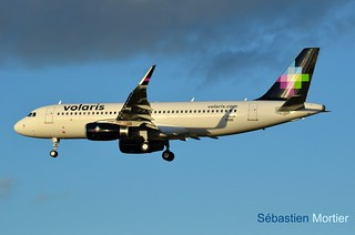 A.320-SHK VOLARIS F-WWIR TO XA- FIRST FLIGHT 19 02 16 TLS