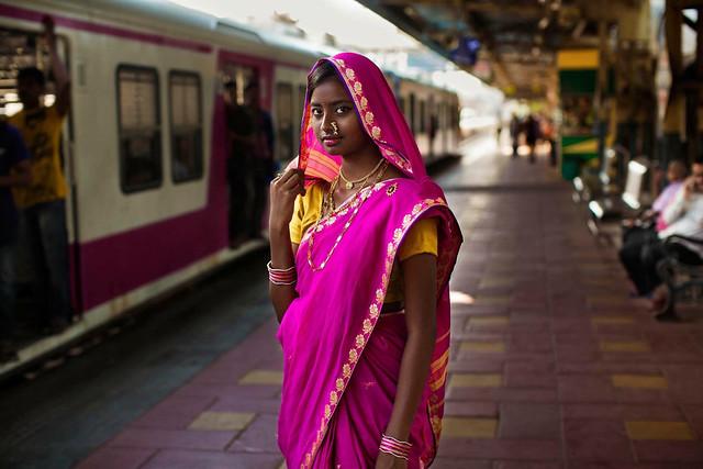 Portrait de femme, Mumbai India Photo: Mihaela Noroc