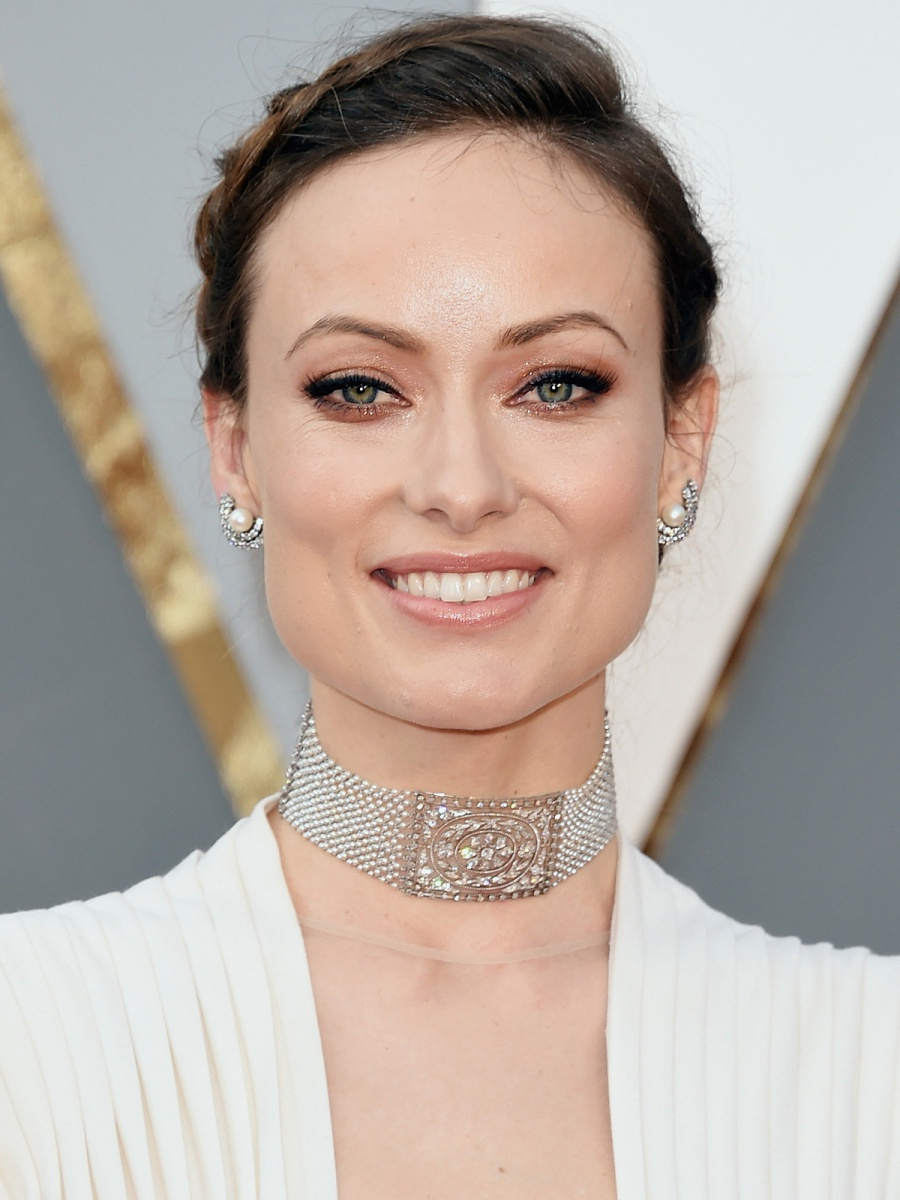 Oscars 2016 Olivia Wilde Hair and Makeup