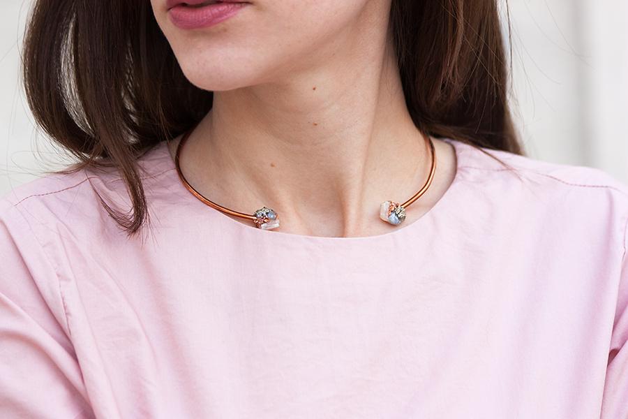 Dear Survivoir Necklace, Copper Necklace