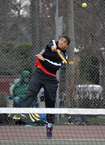 SPTS - Cheney tennis Shogo Starr 2 - 03312016