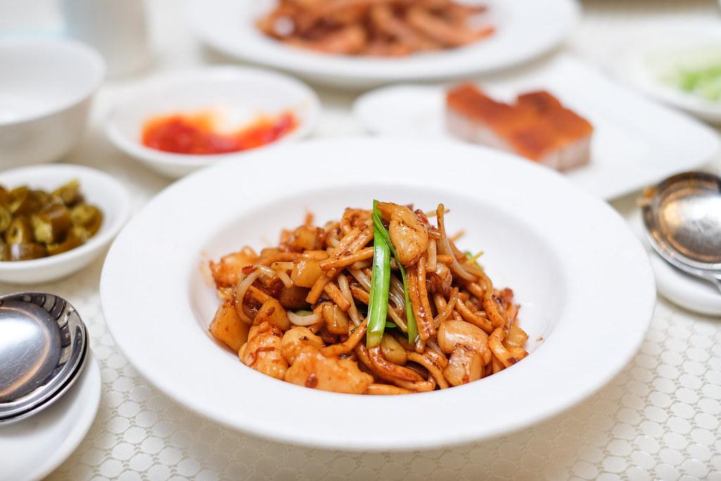华乐粤菜:炒鱼面