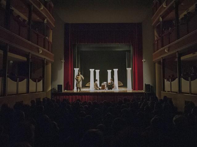 teatro con tè scena