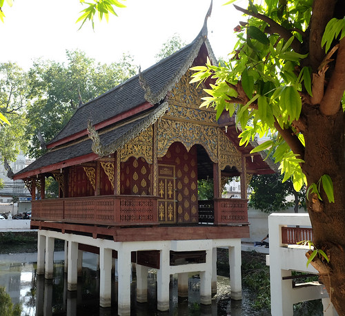 Manuscript Repository, Wat Chiang Mai. From From David Wharton, Digital Library of Northern Thai Manuscripts (CC BY-NC 4.0)