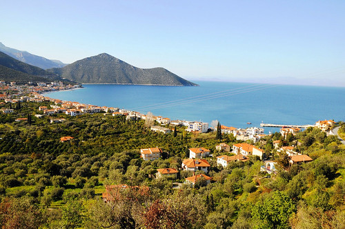 trip travel blue summer vacation holiday green nature landscape photo holidays europe view greece peloponnese summerholidays peloponnisos travelgreece vacationingreece tyrosgreece tyrosarkadias