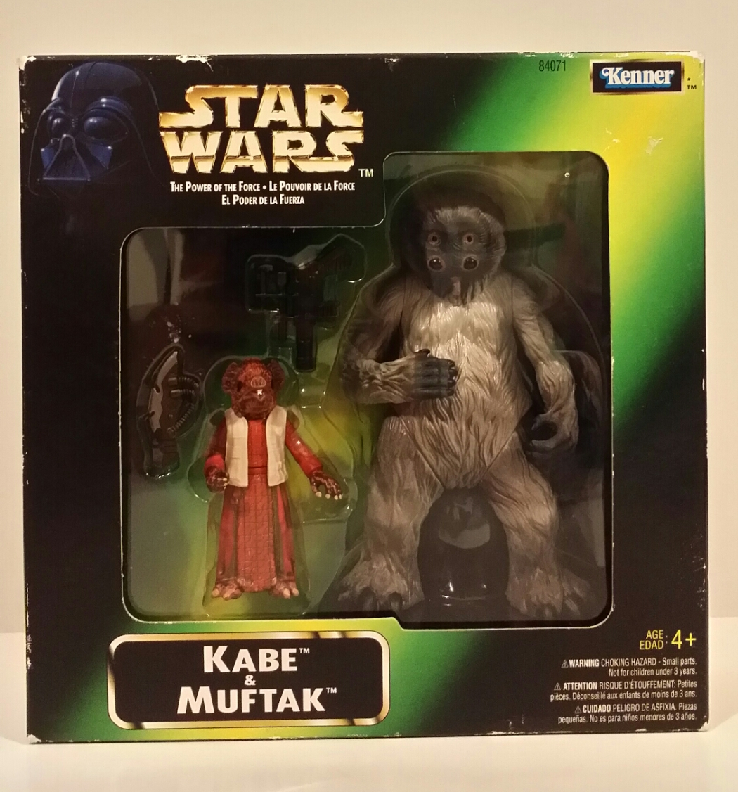 Star Wars Power of The Force - Kabe & Muftak (1998)