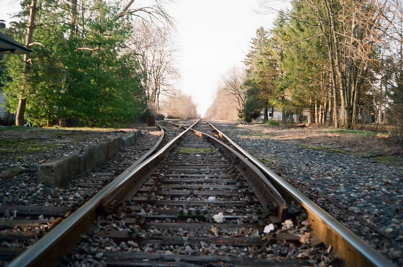 Tracks in Augusta
