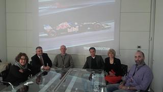 Assieme agli assessori regionali Palma Costi e Andrea Corsini, al sindaco Giovanni Malpezzi abbiamo visitato un'eccellenza faentina: la Toro Rosso, scuderia automobilistica di Formula uno