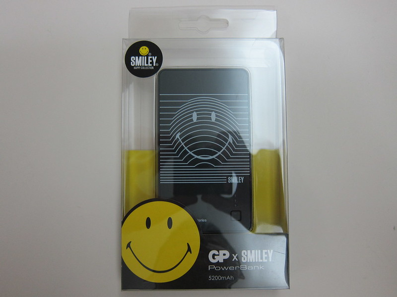 GP x Smiley Special Edition PowerBank - Box Front