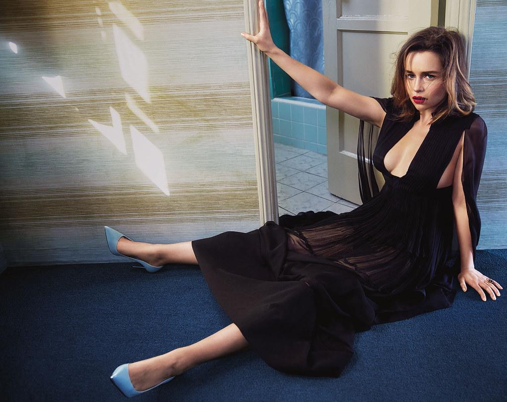 Эмилия Кларк — Фотосессия для «Vogue» AU 2016 – 1
