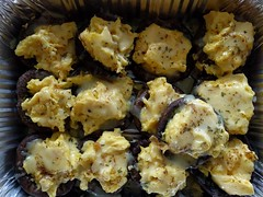 Portobello Mushrooms stuffed with Creamy Scrambled…